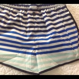 Girls Hunter Stripe Shorts NWOT Size 6/6x